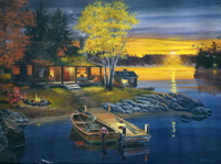 Мирный вечер
