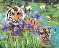 """""""Тигрица с детенышами"""""""