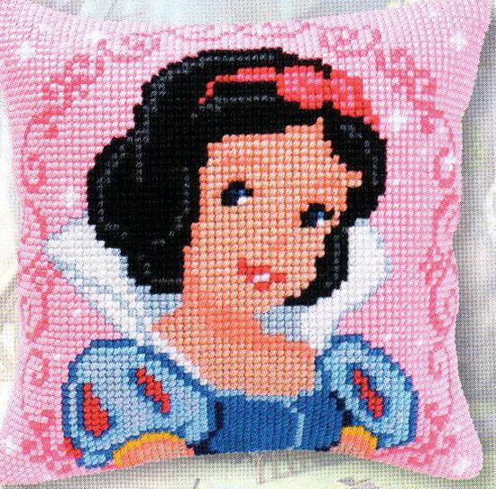 Наборы для вышивания подушек -