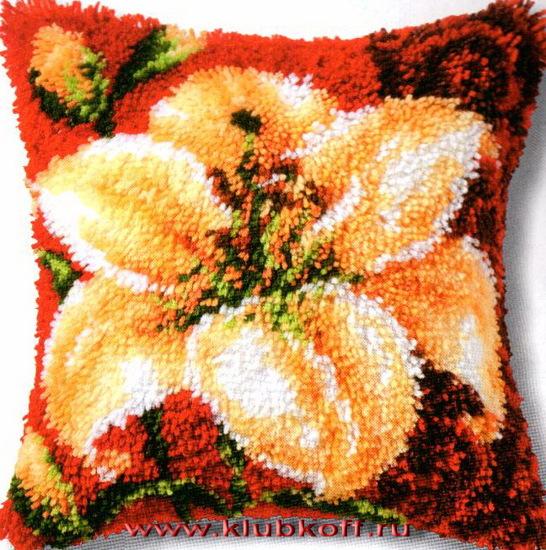 схемы для подушек в ковровой
