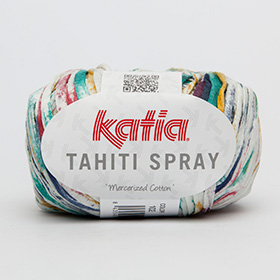 Пряжа Katia Tahiti Spray.