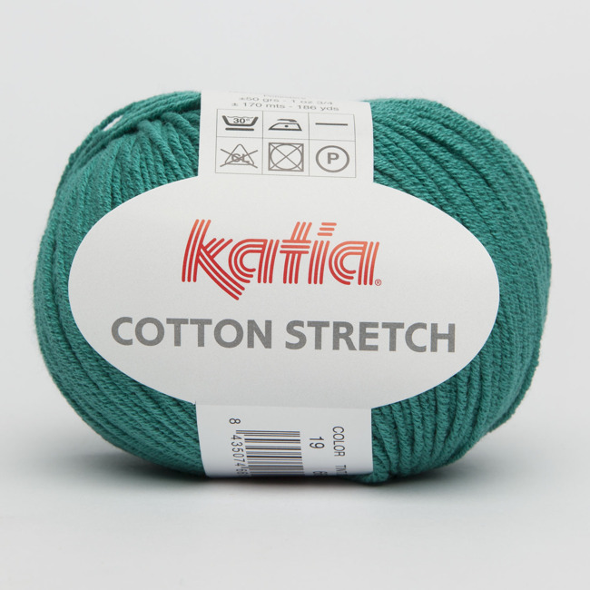 Пряжа Cotton Stretch.